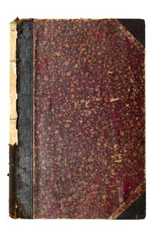 Old Brown Book Cover Royalty Free Stock Images