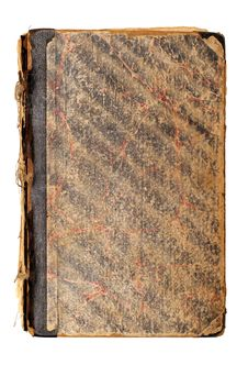 Old Brown Book Cover Royalty Free Stock Image