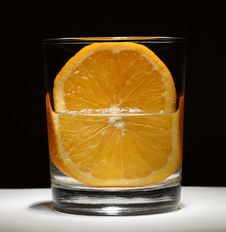 Free Cocktail With Orange Royalty Free Stock Image - 4010426