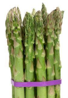 Free Fresh Organic Asparagus Royalty Free Stock Photos - 4010468