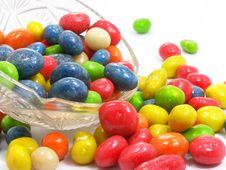 Free Coloured Sweet Candies Stock Image - 4011061