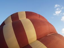 Free Semi-inflated Balloon Royalty Free Stock Photo - 4011515