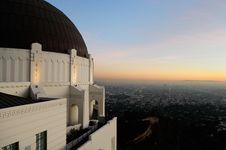 Free View Of Los Angeles CA Stock Photography - 4012402