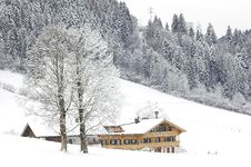 Free Ski Resort In Soell Stock Image - 4012951