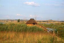 Free Safari Hut With Ramp Stock Photography - 4013052