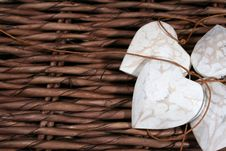 Free Wooden Hearts Stock Photo - 4013150