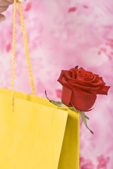 Free Valentine Shopping Abstract Royalty Free Stock Images - 4013189