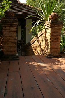 Free Wooden Floor Stock Photography - 4013432