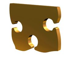 Free 3D Puzzle Royalty Free Stock Photo - 4013655