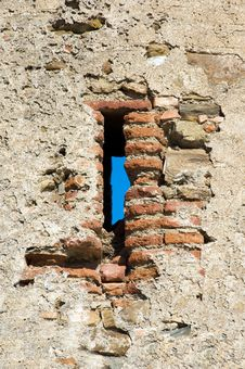 Free Spanish Defensive Tower Detail Stock Photography - 4013912