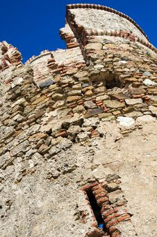 Free Destructed Defensive Tower Stock Photos - 4013953