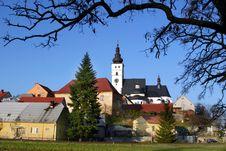 Free Czech Village Pribor Royalty Free Stock Photo - 4014065