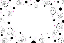 Free Black And Pink Dot Background Stock Photo - 4014430