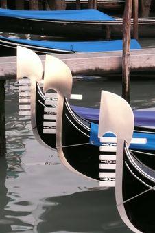 Free Gondolas Of Venice Italy Stock Image - 4014501
