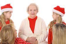 Free Looking At Grandma Royalty Free Stock Photography - 4015077