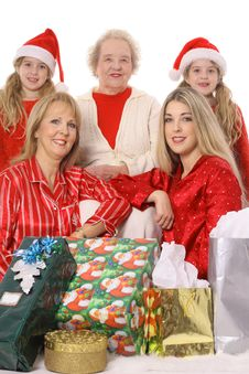 Free Holiday Generations Royalty Free Stock Photo - 4015105