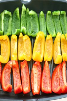 Free Capsicums Royalty Free Stock Photo - 4015595