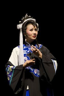 Free The Famous Actress Of Sichuan Opera Royalty Free Stock Image - 4016006