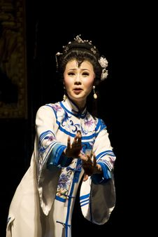 Free The Famous Actress Of Sichuan Opera Royalty Free Stock Photos - 4016068