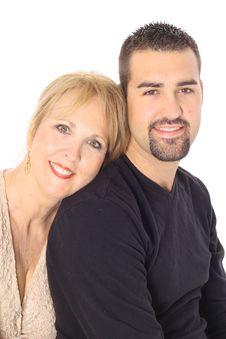 Latino Man And Woman Stock Photo