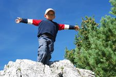 Free Happy Boy Stock Image - 4016701