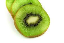 Free Slices Of Green Kiwi Stock Photography - 4016872