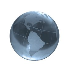 Free Blue Glass Globe Stock Images - 4017174