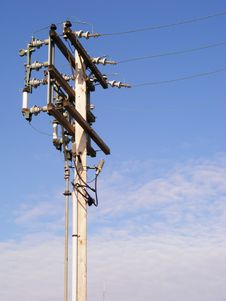 Free Power Pole Stock Photos - 4017453