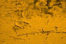 Free Shabby Yellow Wall Stock Photos - 4017753