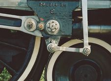 Free Steam Train Detail Stock Photography - 4019092