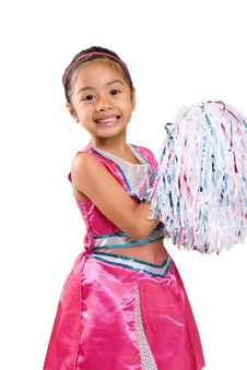 Free Young Cheer Leader Royalty Free Stock Photos - 4019538