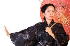 Free Japanese Beauty Royalty Free Stock Photography - 4019587