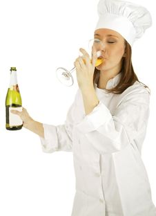 Free Drinking Champagne Royalty Free Stock Photography - 4019737