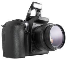 Free Black DSLR Stock Photography - 40110742