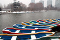 Free Boats In Snow Royalty Free Stock Photos - 4023018