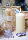 Free Spa Candles Composition Stock Images - 4024114
