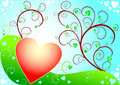 Free Sunny Valentines Day Background Royalty Free Stock Photo - 4024435