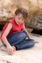 Free Boy Playing Outdoors Stock Photos - 4027023