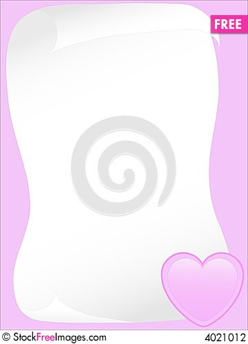 Free Rose Letter Stock Photography - 4021012