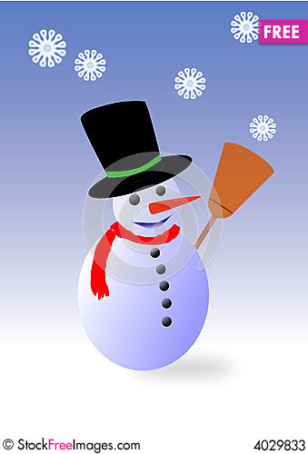Free Snowman Stock Photos - 4029833