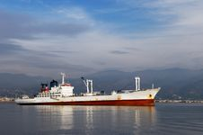 Free White Commercial Ship Stock Images - 4020544