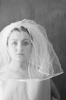 Free Unhappy Bride Royalty Free Stock Image - 4020546