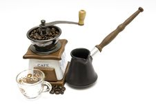Free Coffee Grinder Royalty Free Stock Images - 4020569