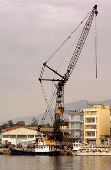 Free Industrial Crane Stock Photo - 4020710