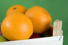 Free Crate Of Oranges Stock Photos - 4020903