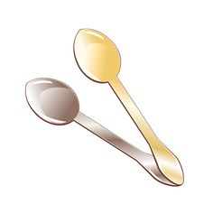 Free Spoons Royalty Free Stock Photography - 4021457