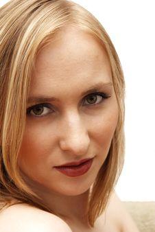 Free Beautiful Blonde Woman Stock Image - 4022201