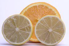 Free Lemon And Orange Royalty Free Stock Photo - 4022325