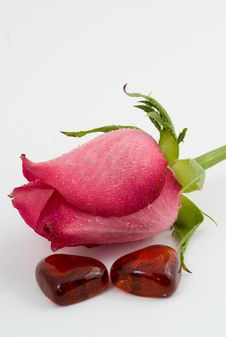 Free Rose And Heart Stock Images - 4022394