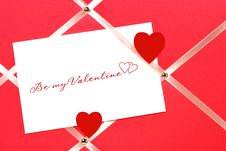 Free I Love You On White Paper Stock Photo - 4022870